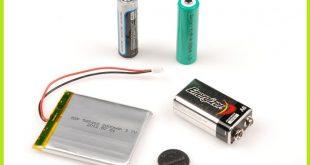 قطعات الکترونیکی باتری